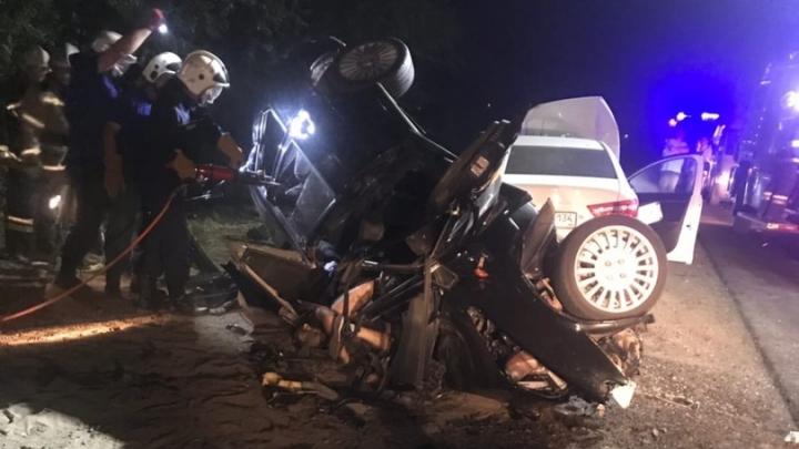 В страшной аварии в Волжском погибли двое человек и один ранен