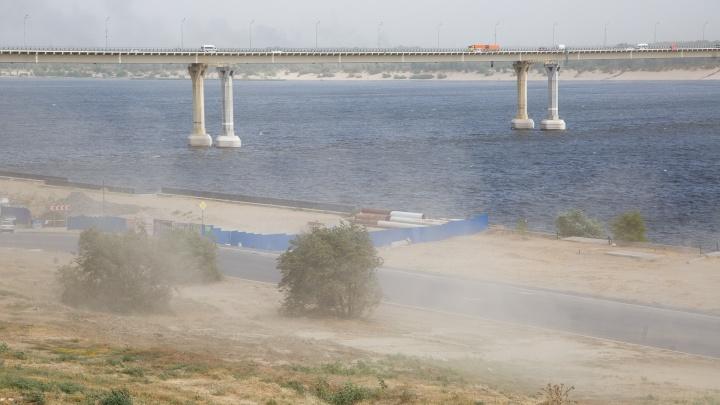 МЧС объявило штормовое предупреждение по Волгоградской области