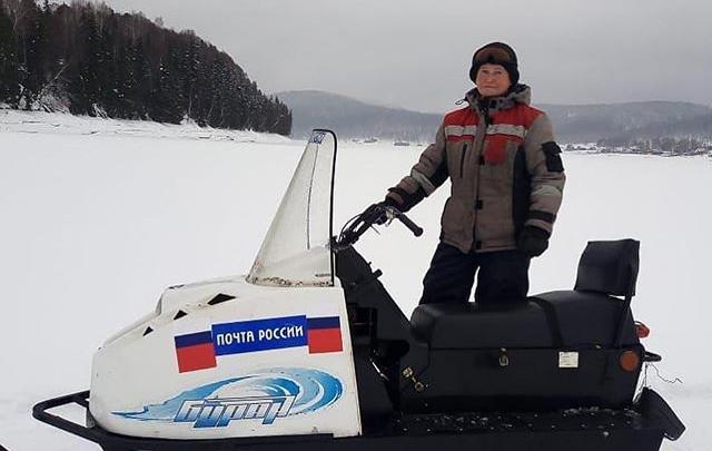 Почтальон из башкирской глубинки Алена Алеева прославилась на всю страну