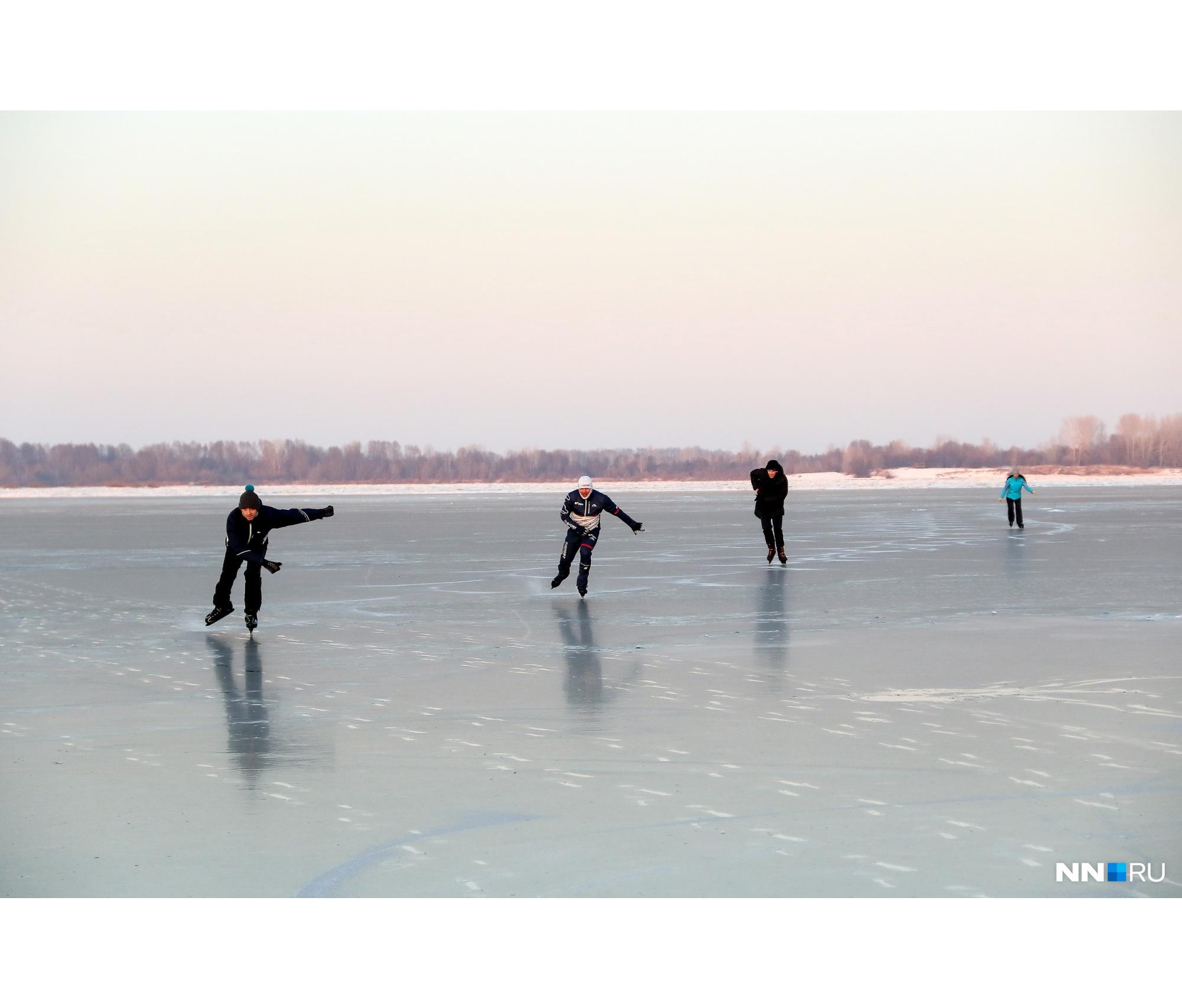 В это воскресенье рекуоблюбовали конькобежцы