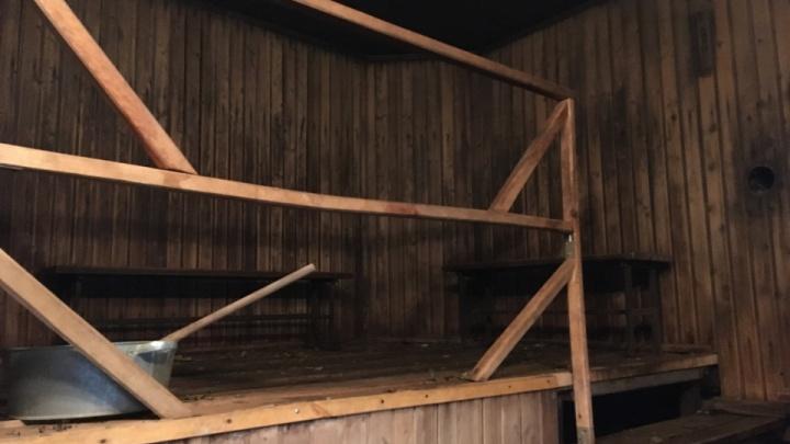 Курганец украл из закрытой из-за коронавируса сауны технику и алкоголь