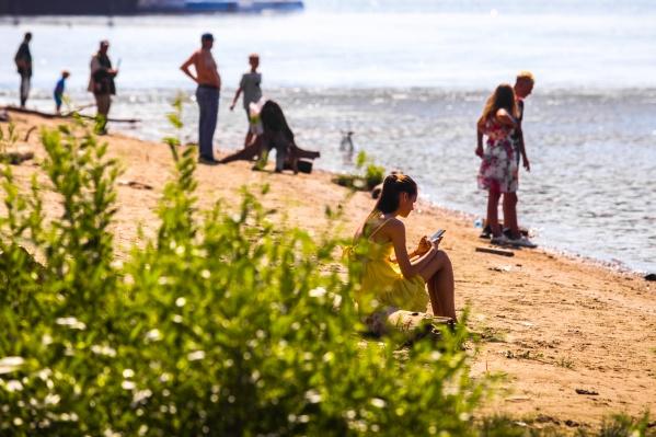 На сегодня официально открыты только два пляжа:«У моря Обского» и «Бугринская роща»
