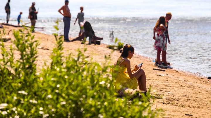 В Новосибирске разрешили купаться только на одном пляже