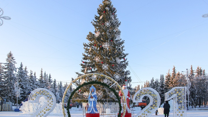 Житель Уфы расстроился из-за того, что в парке Якутова не установили ледяную горку