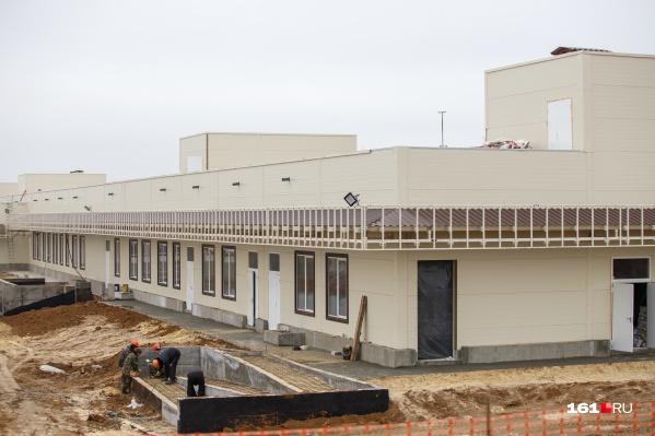 На строительство новой больницы из бюджета Ростовской области уже выделили 2,6 миллиарда рублей