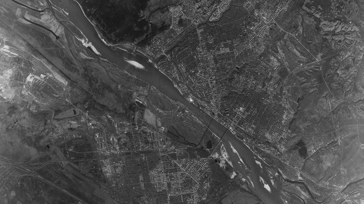 Изучаем шпионскую карту: 20 мест Новосибирска, которые за 55 лет изменились почти до неузнаваемости