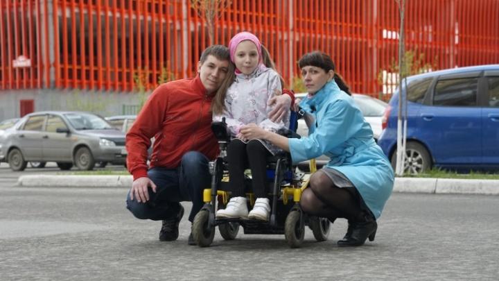Родители школьницы с СМА из Тюмени попросили у губернатора помощи. Им нужно 47 млн рублей