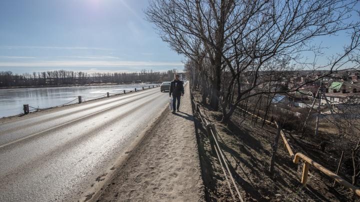 В Аксайском районе появится дорога через Ростовское море