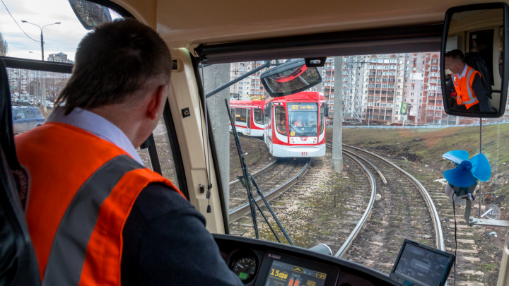 В Самаре не хватает водителей и кондукторов трамваев