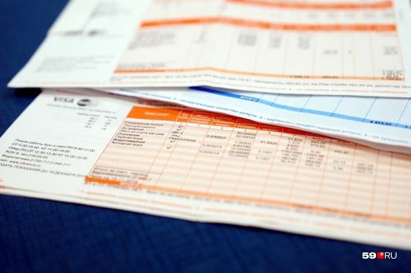 Увеличенные счета придут в августе
