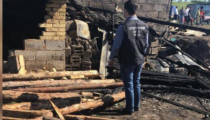 Следователи Башкирии рассказали подробности гибели шести человек, которые сгорели при пожаре заживо