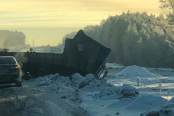 ДТП произошло на трассе под Березниками
