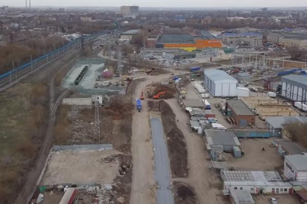 Завершить работы на участке подрядчик обещает осенью 2020 года