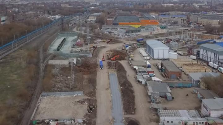 Расширяют дорогу: самарский видеоблогер снял ремонт Заводского шоссе с высоты
