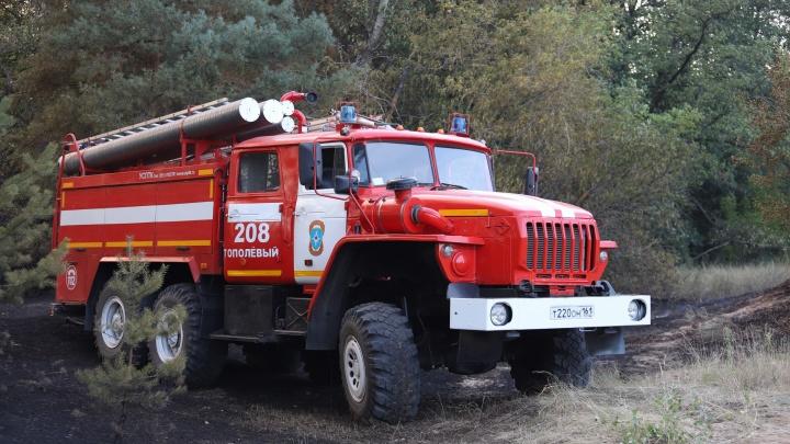 Голубев объяснил, почему нет дорог в районах Ростовской области, где возникли большие пожары