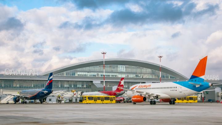 Из Курумоча планируют запустить рейсы за границу