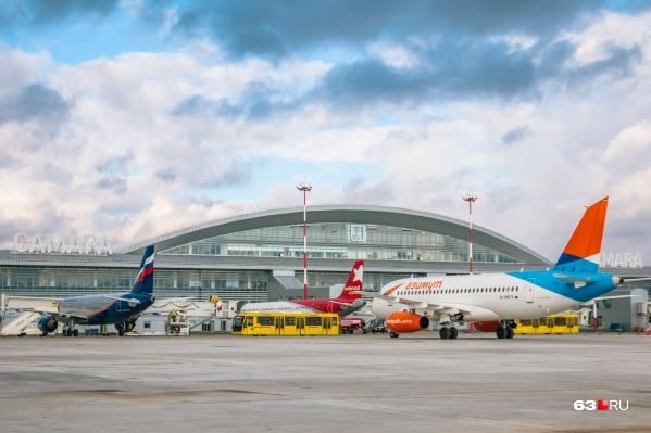 По данным на начало июля, из самарского аэропорта можно улететь в несколько городов России, в том числе в Крым и в Краснодарский край