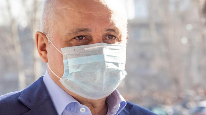 «Самое сложное — отмена рукопожатий»: Сергей Цивилев рассказал, боится ли заболеть коронавирусом