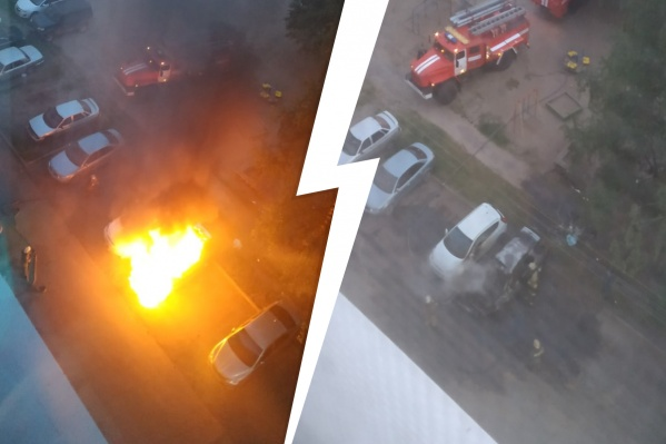Люди уверены, что причиной пожара был поджог