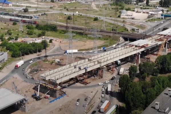 Конструкция почти готова к бетонированию