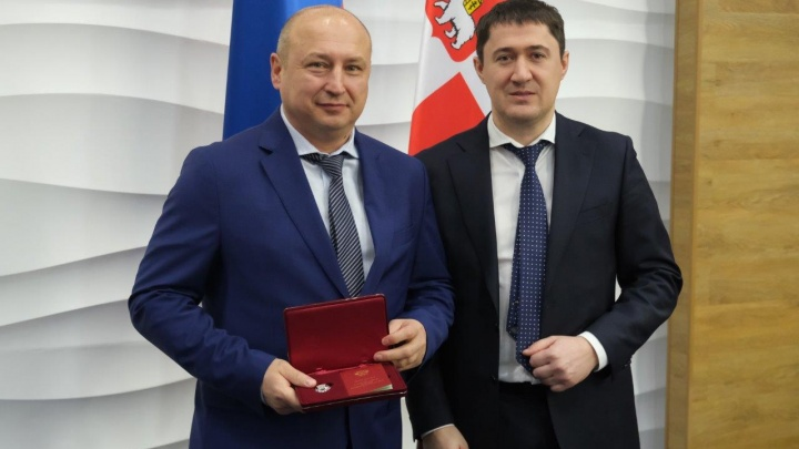 Главного инженера пермского «УРАЛХИМа» наградили по указу президента