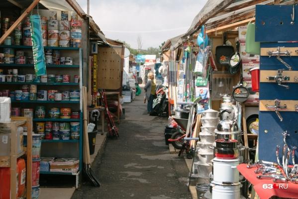 Торговцев попросят изменить внешний облик свои павильонов