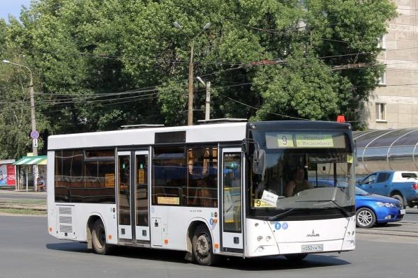 Девятый автобус теперь будет ходить по своему маршруту