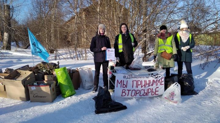 Из-за коронавируса экологическое движение «42» отменило акции по раздельному сбору мусора
