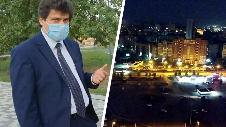 «Людям с бензиновой душой деться некуда»: мэр Екатеринбурга — о ночных дрифтерах на парковке у «Дирижабля»