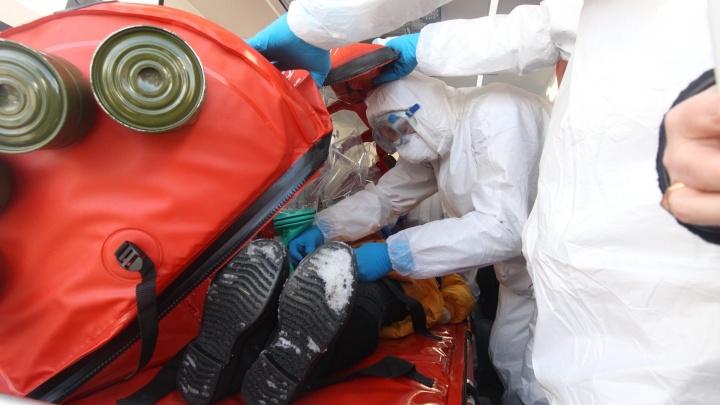 Еще троих жителей Башкирии госпитализировали с подозрением на коронавирус