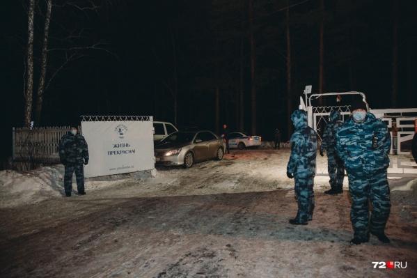 В карантинную зону, которая находится под Тюменью, снова свозят людей