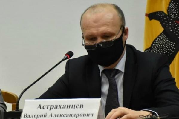 В администрации Переславля опровергли информацию, что Валерий Астраханцев заразился COVID-19