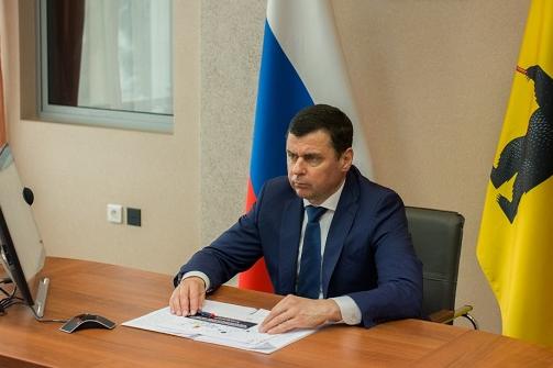 Губернатор Ярославской области отчитается о своей работе перед думой, не приходя на заседание