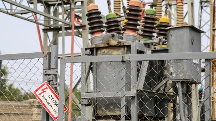 В первый день зимы пять районов Волгограда останутся без электричества