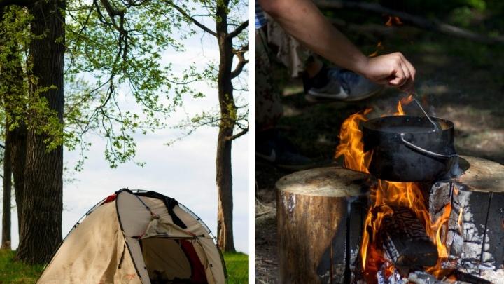Где можно отдохнуть с палатками в Нижегородской области: список лучших мест