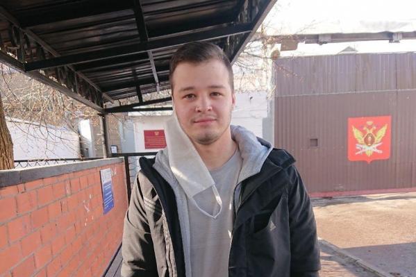 Никита Чирцов находился в СИЗО Курска