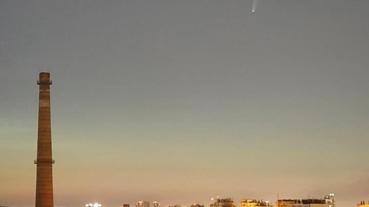 Челябинцы сфотографировали самую яркую за последние семь лет комету