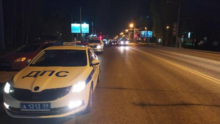 В Перми на пенсионера, сбитого автомобилем, завели дело о нарушении ПДД