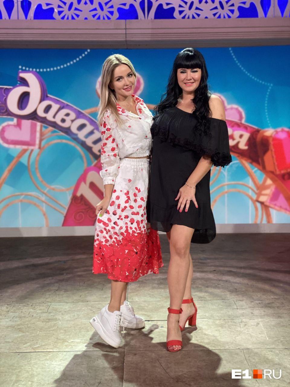 На шоу Екатерину поддерживала Татьяна Семинская, которая сама не так давно была участницей «Давай поженимся!»