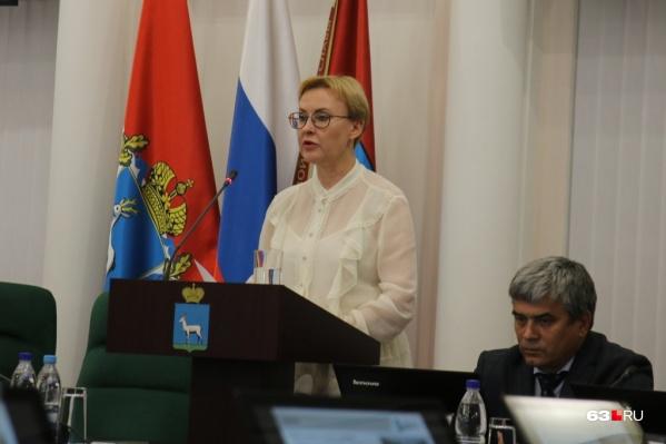 Глава города рассказала об этом на пленарном заседании, которое было посвящено отчету Елены Лапушкиной на посту мэра Самары