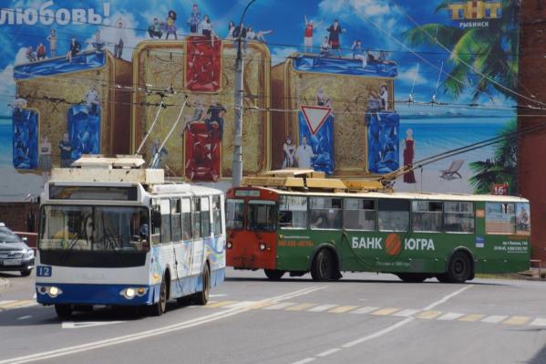 В Рыбинске 5-й троллейбус ходит с 1985 года