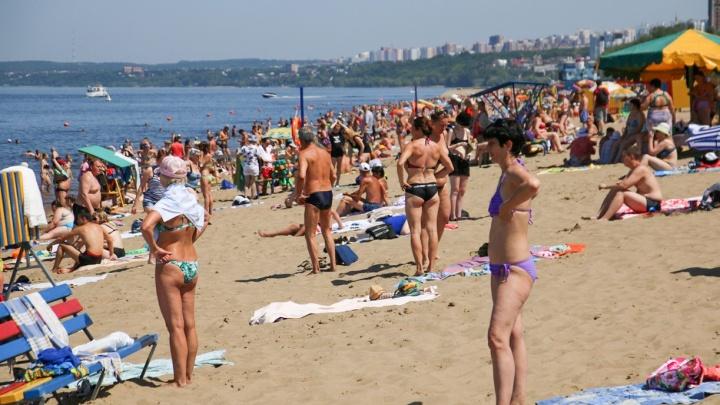 В Самарской области ожидается 42-градусная жара