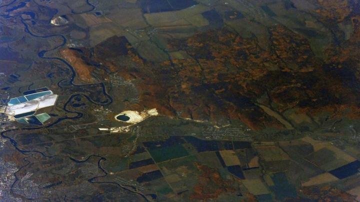 Космонавт показал, как выглядят Стерлитамак и башкирские шиханы с МКС