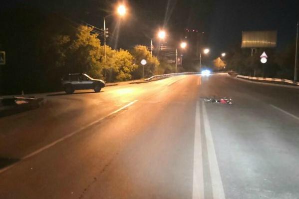 Авария случилась в 22:30