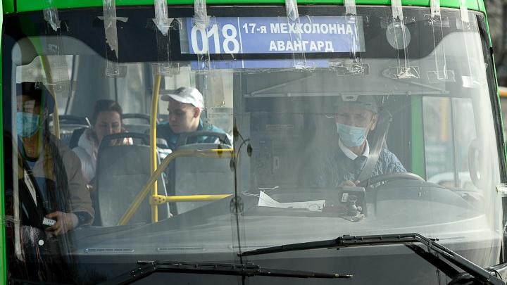 Вслед за такси антиковидными экранами оснастят автобусы Екатеринбурга