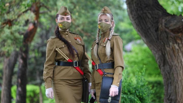 Только на возложении: 9 мая в Волгограде не будет девушек-регулировщиц