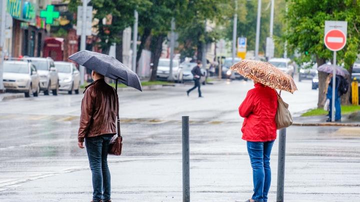 МЧС предупреждает о сильном дожде и ветре в Пермском крае