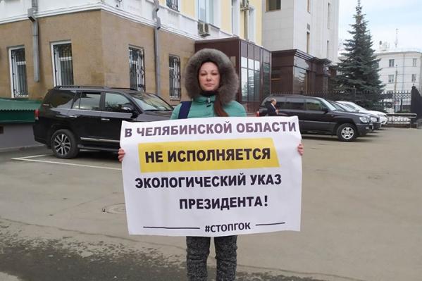 От здания правительства Юлианну Павенину доставили в отдел полиции Центрального района