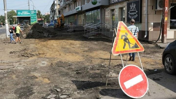 В Кемерово начали ремонтировать запланированные на 2021 год дороги