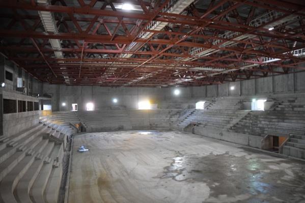 Центральная арена рассчитана на 5000 мест